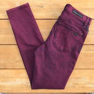 Rock & Republic  Purple Wash Skinny Jeans Size 8